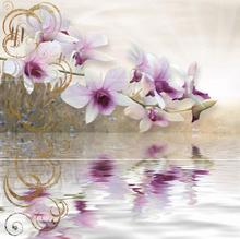 Декор Колорглос Орхидея Сет 3 х 25/75