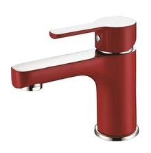 Смесител стоящ за мивка червен ROM0561CV